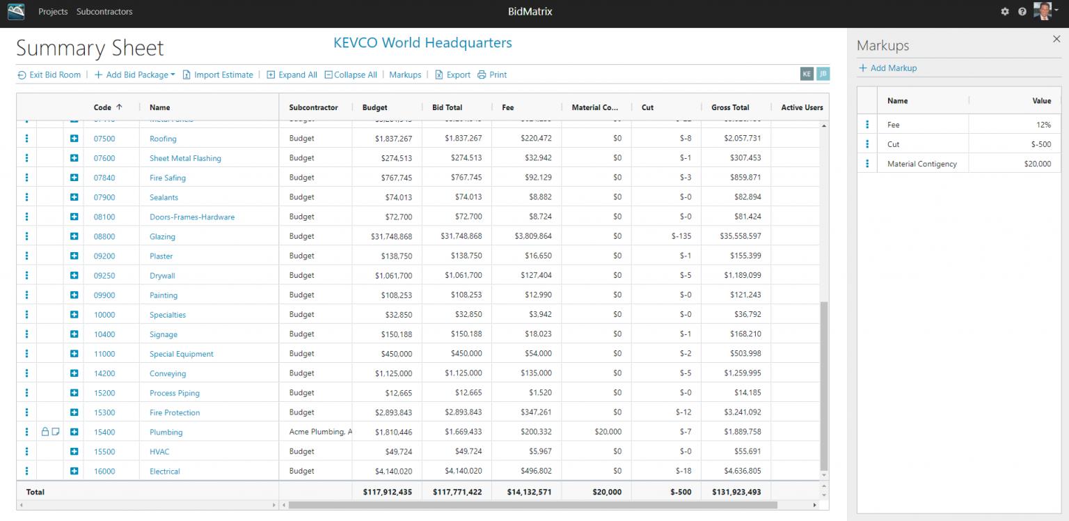 Real-Time Collaboration, Built on the Cloud - BidMatrix   Bangert, Inc